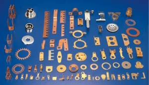 Brass Pressed Parts Components