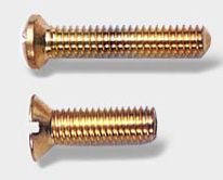 BRASS SCREWS MACHINE SCREWS BRASS SCREWS