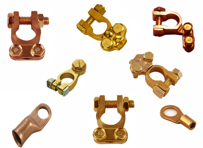 Brass Battery Terminals Copper cable lugs terminals