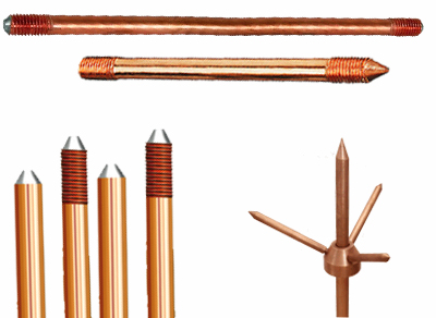 Copper Earth Rods Grounding rods Copper bonded earthing rods Equipment and Lightning Protection System 		Brass Washers Jamnagar Brass components india Brass Auto Replacement Tube Valves and Accessories 	Brass anchor 	        fasteners 	Brass Screws Brass Nuts Brass Fasteners Brass Inserts Brass Fasteners Brass Terminals
